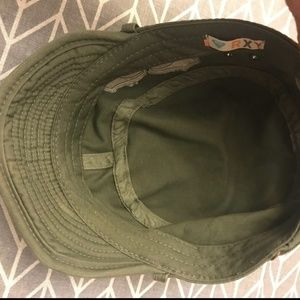 Roxy Accessories - Green military hat 2  13 62cc45ab0939